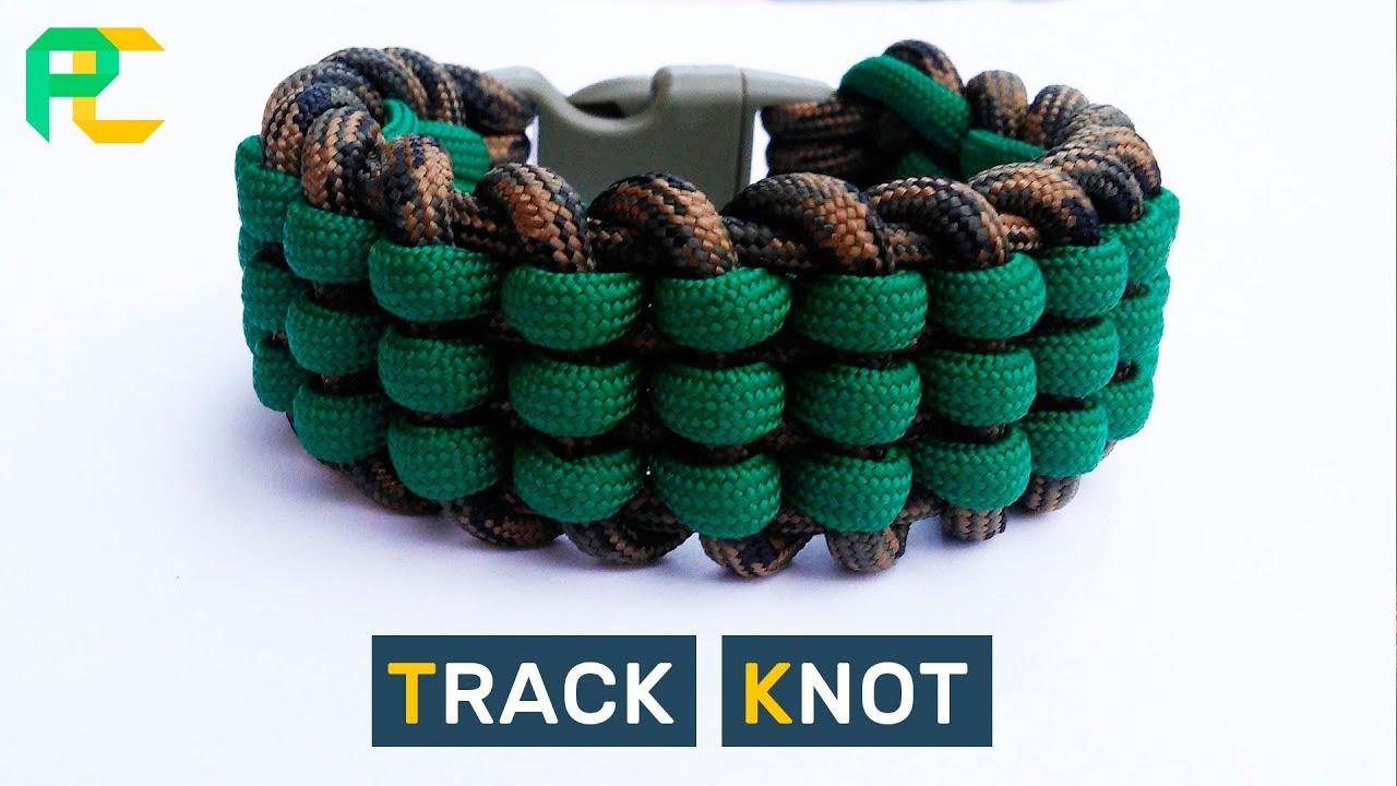 Track Knot Paracord Bracelet Youtube