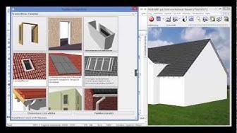 Bauset-Hausplaner Gebäude und Häuser entwerfen