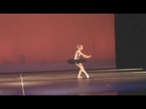 Leanne Fromm-Age 11 doing variation from Paquita