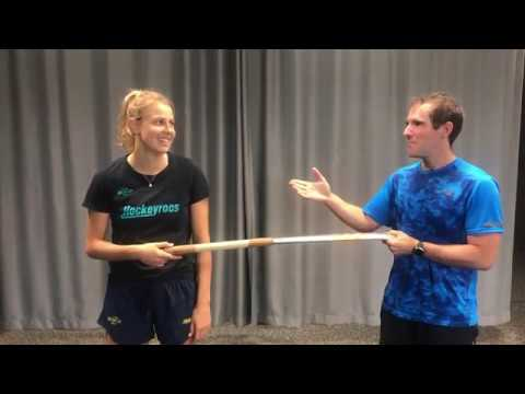 Hockey at Home with Hockeyroos  - Maddie and Steve