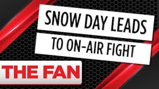 FIGHT: Producers get into it over snow day accommodations
