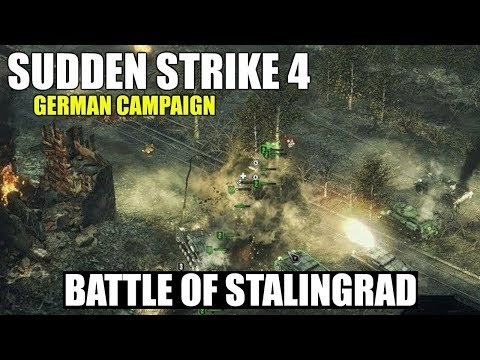 Sudden Strike 4 German Campaign 'Battle of Stalingrad'