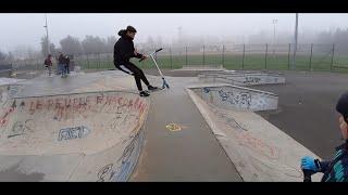 vlog/ skatepark de Saint Genis Laval et Vaulx-en-Velin