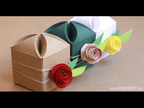 C mo decorar cajas de regalo para boda youtube - Cajas para decorar manualidades ...
