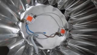 Светодиодный светильник 2х10Вт практика (2 серия)(Светодиодный фитосветильник 2х10Вт практика. Необходимый перечень элементов для создания светильника для..., 2016-06-15T10:00:47.000Z)