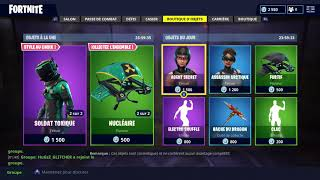 "FORTNITE June 20Th Skin Shop ""SOLDAT TOXIQUE""!"