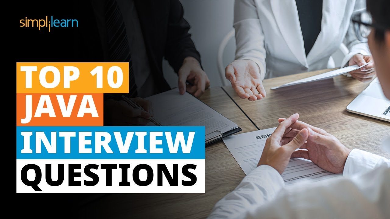 Top 10 Java Interview Questions | Java Interview Questions And Answers