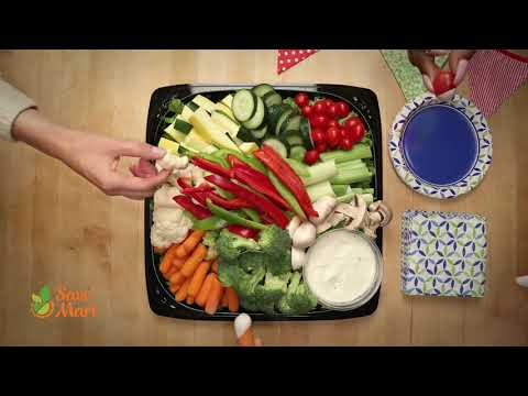 Save Mart's Fresh Vegetable Tray Party Platter
