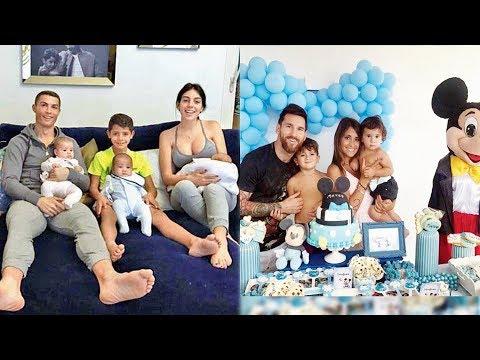 Cristiano Ronaldo's Family VS Lionel Messi's Family ★ 2018