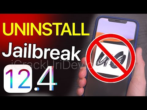 UnJailbreak iOS 12.4 Remove & Uninstall Unc0ver or Chimera! - Delete Cydia & Sileo (NO COMP/RESTORE)