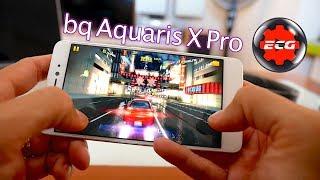 Bq Aquaris X Pro rendimiento en juegos