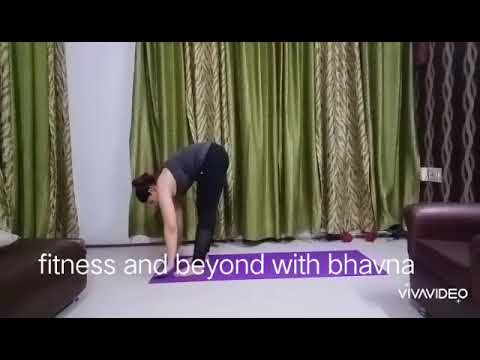 yoga another variation of surya namaskar  youtube
