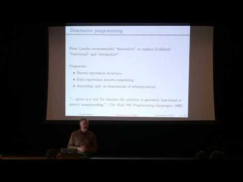 Lambda Jam 2015 - Conal Elliott - Denotational Design: From Meanings To Programs