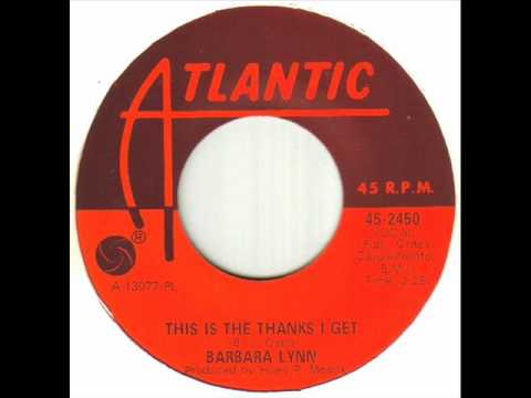Клип Barbara Lynn - This Is the Thanks I Get