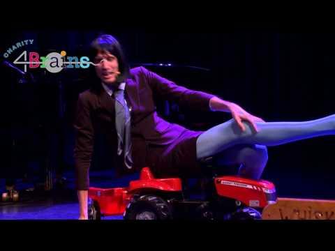 Dennis Weening En Ytsje Veilen Een Tractor - Charity4Brains 4 Nov 2016