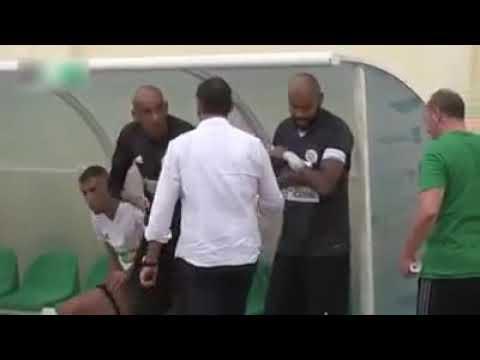 شاهد اول لقاء بين المدرب جمال بلماضي و لاعبيه