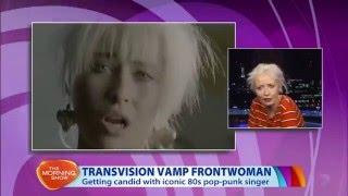 Wendy James - Transvision Vamp   (Australian TV  Interview 21/12 /2015)