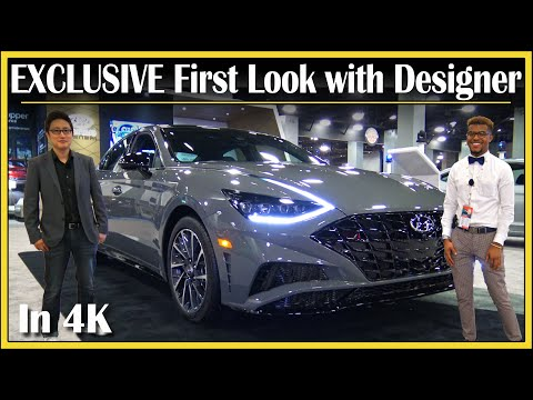 2020 Hyundai Sonata (EXCLUSIVE) First Look Walkaround with Designer | Quick New Car Review | In 4K