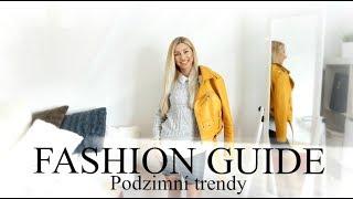 FASHION GUIDE: Podzimní móda | Trendy podzimní kousky v mém šatníku