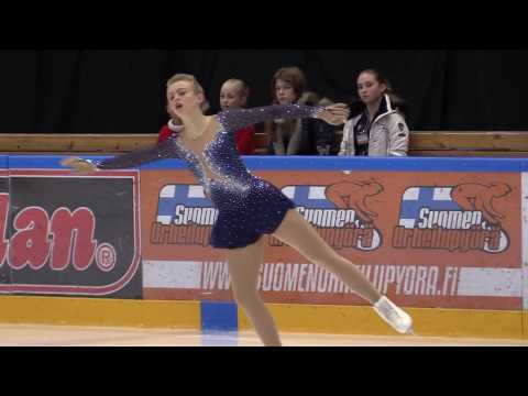 Figure Skating Senior Ladies Free Skating Emmi Peltonen