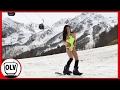 Capture de la vidéo An Amazing Ski Slope Breathtaking Somewhere In Russia  #olv