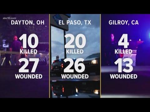3 mass shootings, 1 week | Gilroy, El Paso & Dayton Mp3