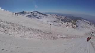 Ski Trip in Sierra Nevada | GoPro Hero