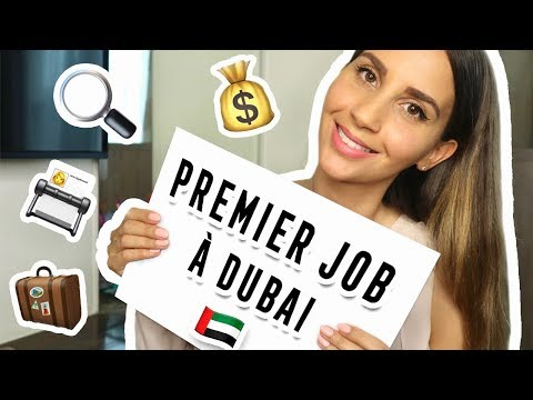 TROUVER UN TRAVAIL À DUBAI