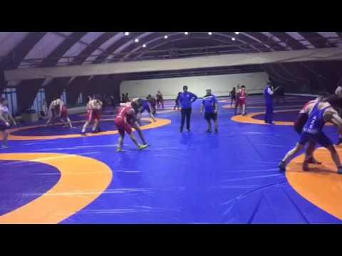 Live training with Azerbaijan wrestling team