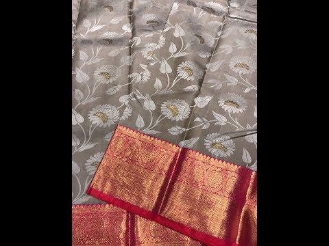 Designer Kanjeevaram Silk Sarees Premium Collection With Price Above INR 20K
