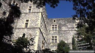 Ardèche - Alba la Romaine - Château (4K)