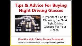Best Night Driving Glasses | Tips For Buying Anti-Glare Glasses
