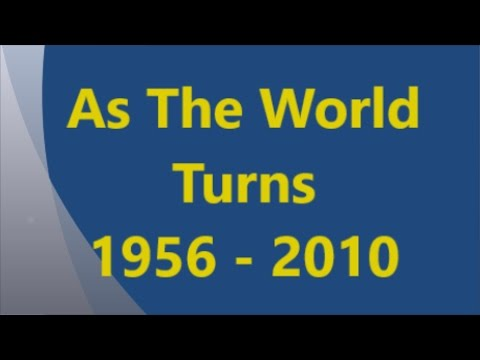 As The World Turns Opening Compilation