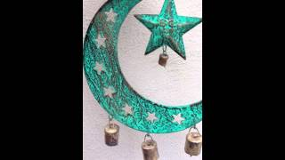 Moon & Star Wind Chime - Available At Eclectic Artisans