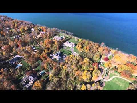 Stony Brook Harbor, Long Island NY, Drone Footage (Full Flight)