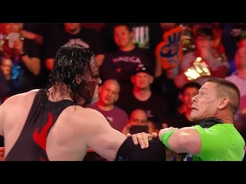 Download Kane attacks on the John Cena  after insulting The Undertaker in Monday Night Raw