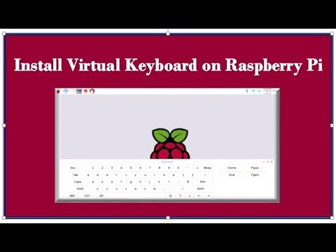 install on screen keyboard on raspberry pi youtube. Black Bedroom Furniture Sets. Home Design Ideas