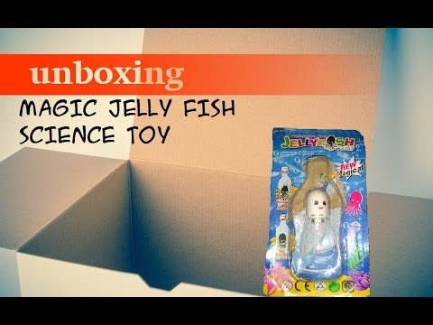 Magic Jelly Fish Science Toy