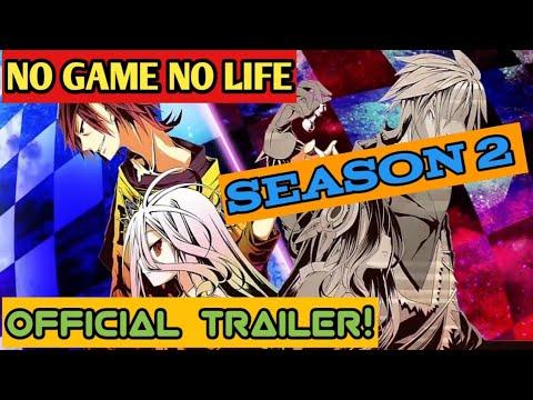 No Game No Life Season 2 OFFICIAL TRAILER!