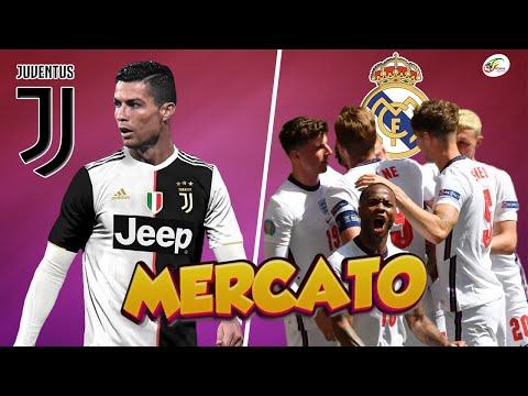 Coup de pression de la Juventus sur CR7.. Le Real Madrid s'attaque à une star anglaise   Mercato