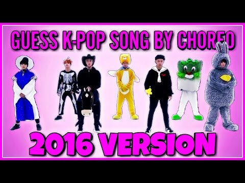 GUESS 2016 KPOP SONG BY CHOREO | EASY