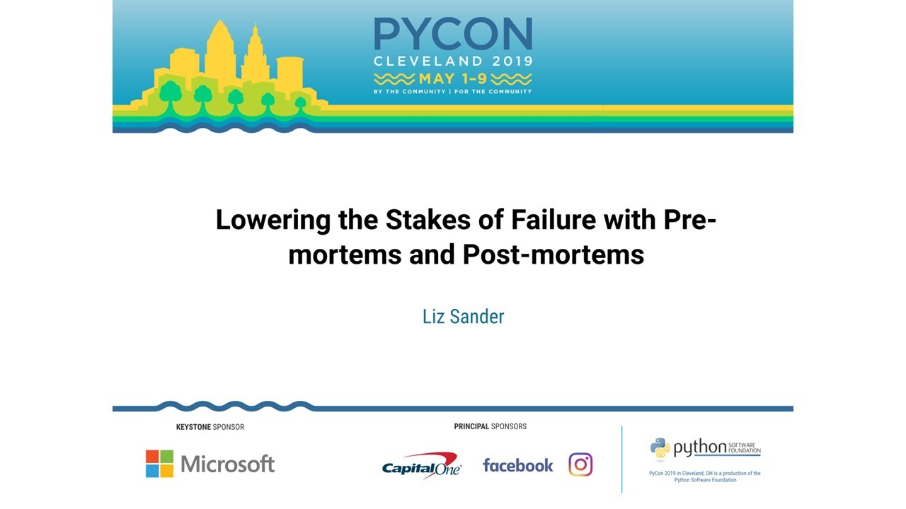 Image from Lowering the Stakes of Failure with Pre-mortems and Post-mortems