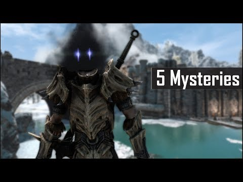 Skyrim: 5 Unsettling Mysteries You May Have Missed in The Elder Scrolls 5 (Part 7) 鈥� Skyrim Secrets