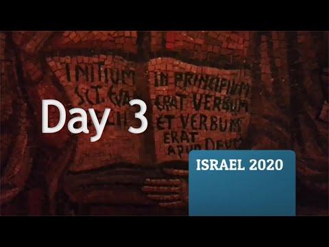 Calvary Chapel Fluvanna Israel Trip 2020 - Day 3