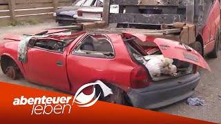 Deutschlands größter Autoverwerter | Abenteuer Leben