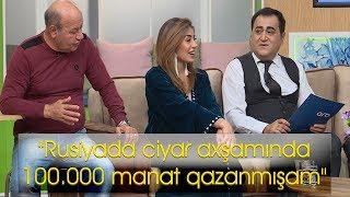 """""""Rusiyada """"Ciyar Axşamı""""nda 100.000 manat qazanmışam"""" - Rəqqasə Aygün"""
