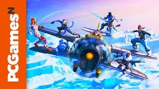 All Fortnite season 7 map changes - Frosty Flights, Happy Hamlet, Polar Peak, and more
