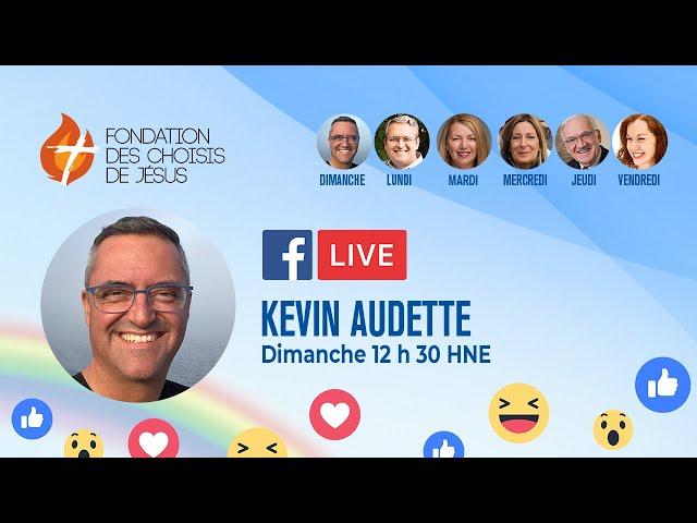 Facebook Live quotidien 17/01/2021 - Donnez votre confiance total