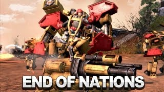 End of Nations - Player vs Player Commentary [PvP]