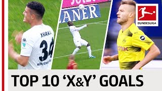 Xhaka, Yang & Yarmolenko - Top 10 Goals - Players with